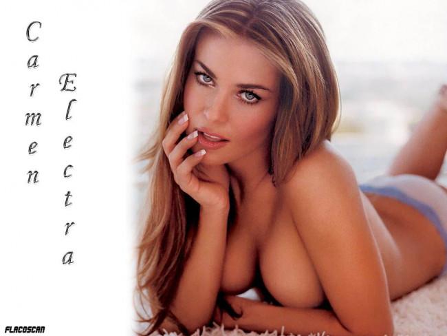 Порно фейк Кармен Электра (Karmen Elektra) .